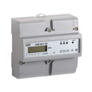 Счетчик электрической энергии трехфазный STAR 301/1 R2-5(60)Э IEK