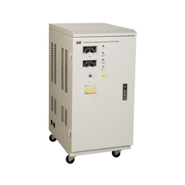 Стабилизатор напряжения однофазный СНИ1-20 кВА IEK (восстановленный)