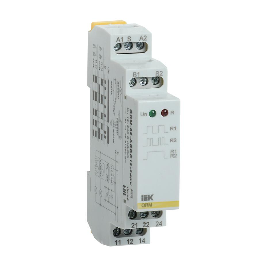 Реле импульсное ORM 2 контакта 12-240В AC/DC IEK