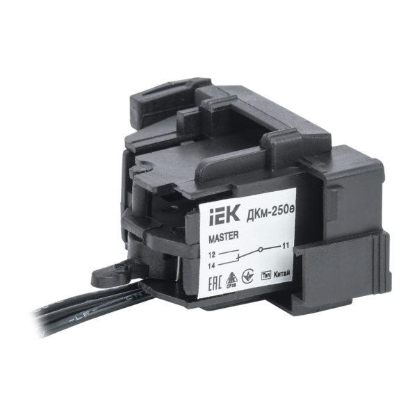 Контакт дополнительный ДКм-250е (ДКм-35) для ВА88-35 MASTER с электронным расцепителем IEK