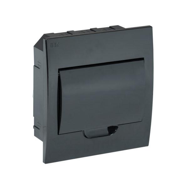 KREPTA 3 Корпус пластиковый ЩРВ-П-8 IP41 черная дверь черный IEK