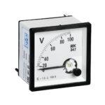 Вольтметр аналоговый Э47 100В класс точности 1,5 96х96мм IEK 1