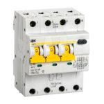 Автоматический выключатель дифференциального тока АВДТ34 C40 30мА IEK 1