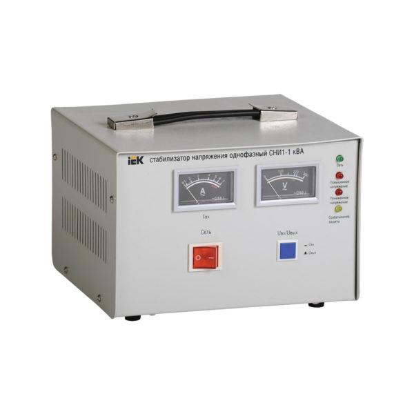 Стабилизатор напряжения однофазный СНИ1-1 кВА IEK (восстановленный)