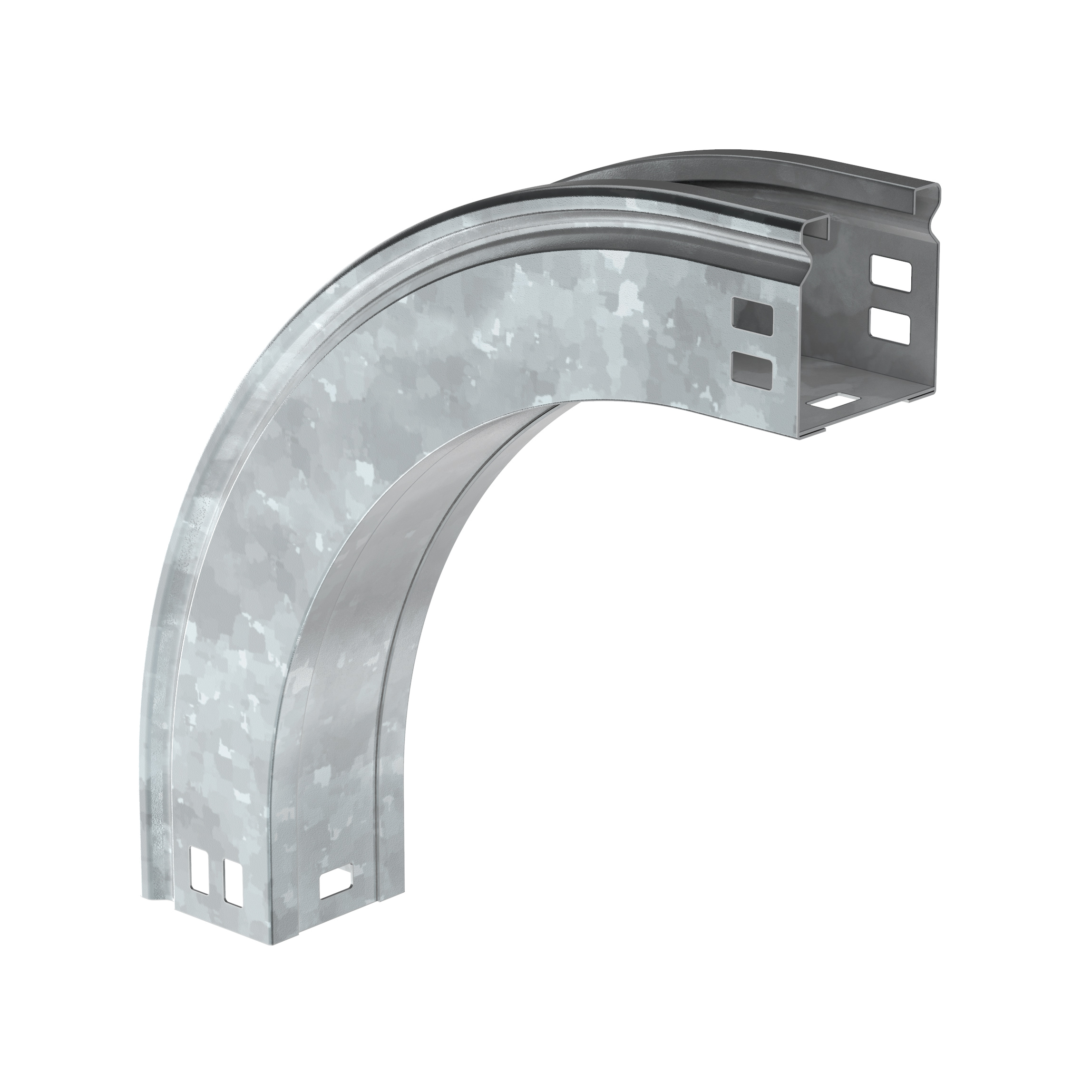 Поворот плавный 90град вертикальный внешний (тип В20) ESCA 50х150мм HDZ IEK 1