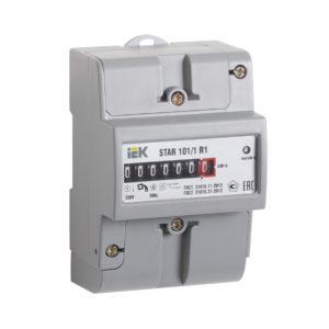 Счетчик электрической энергии однофазный STAR 101/1 R1-5(60)М IEK