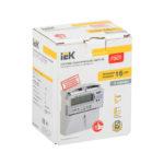 Счетчик электрической энергии однофазный многотарифный STAR 104/1 R5-5(60)Э 4ШО IEK 2