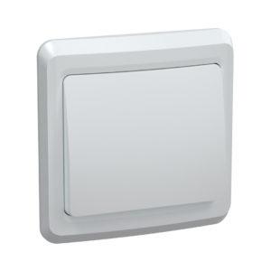 Выключатель 1-клавишный ВС10-1-0-ВБ 10А ВЕГА белый IEK