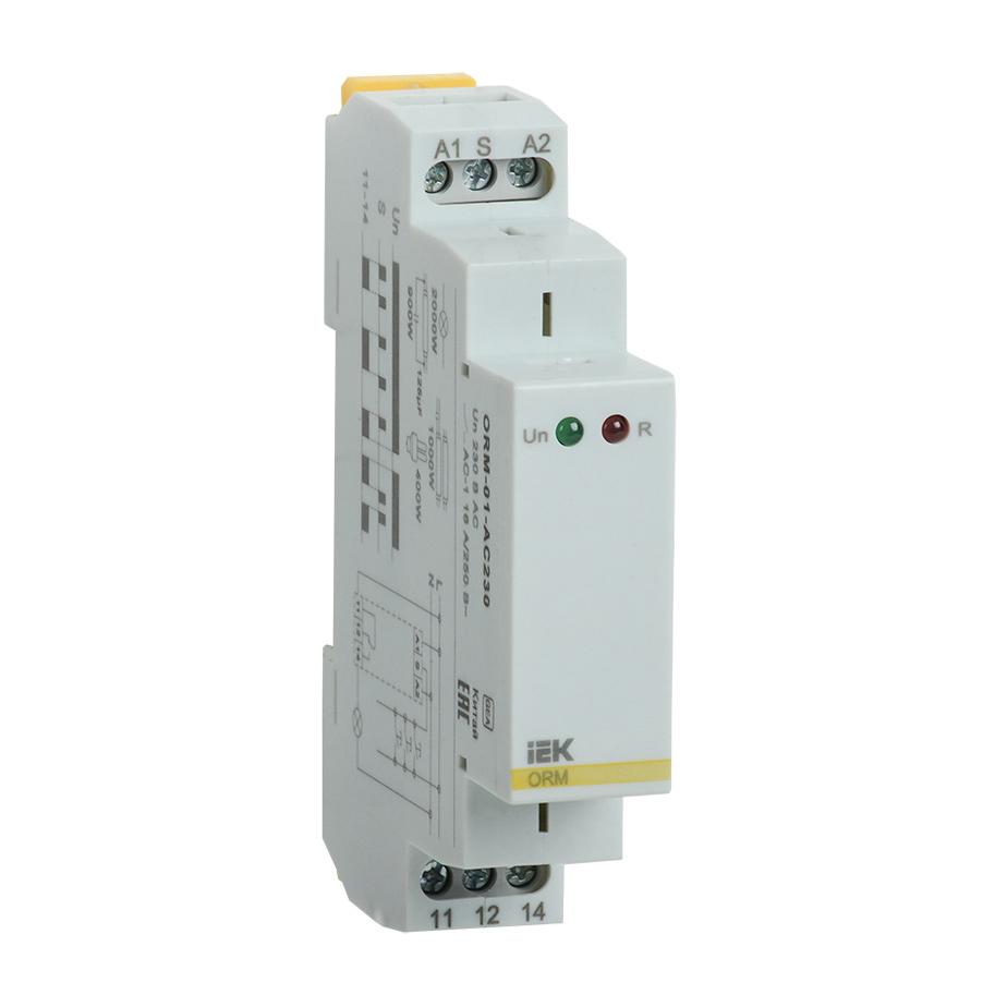 Реле импульсное ORM 1 контакт 230В AC IEK