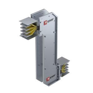 Cекция Z-образная горизонтальная 1000 А IP55 AL 3L+N+PE(КОРПУС)
