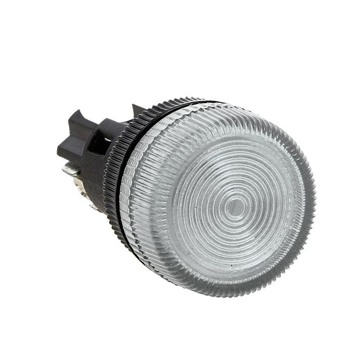 Лампа сигнальная ENS-22 белая 380В EKF PROxima
