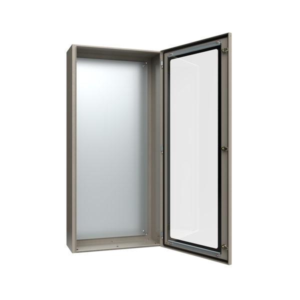 Корпус металлический ЩМП-7-0 У2 IP54 с прозрачной дверцей IEK