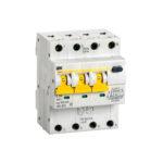 Автоматический выключатель дифференциального тока АВДТ34 C16 300мА IEK 1