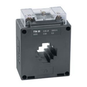 Трансформатор тока ТТИ-30 200/5А 10ВА класс 0,5 IEK