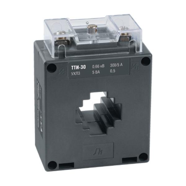 Трансформатор тока ТТИ-30 250/5А 5ВА класс 0,5S IEK