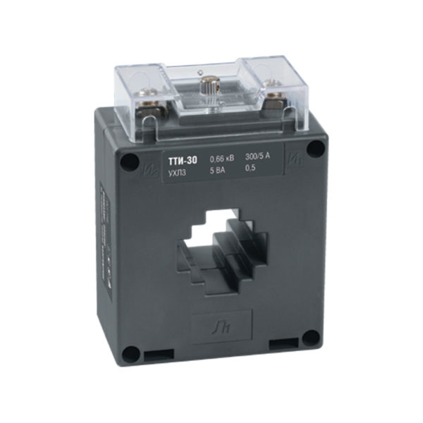 Трансформатор тока ТТИ-30 300/5А 5ВА класс 0,5S IEK