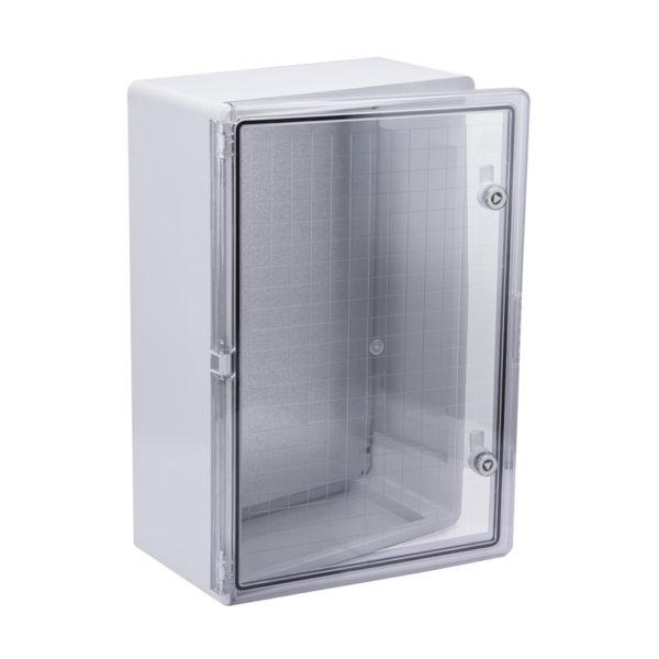 Корпус пластиковый ЩМПп 600х400х200мм прозрачная дверь УХЛ1 IP65 IEK
