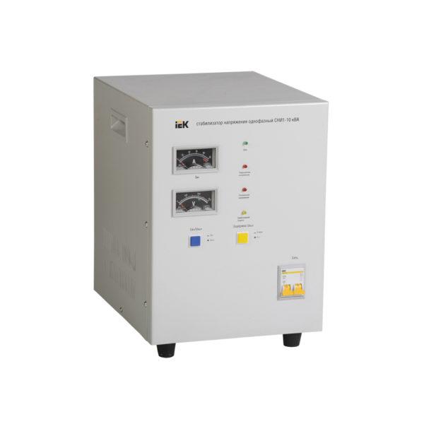 Стабилизатор напряжения однофазный СНИ1-10 кВА IEK (восстановленный)
