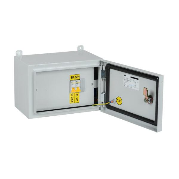 Ящик с понижающим трансформатором ЯТП-0,25 230/24-2 УХЛ2 IP54 IEK