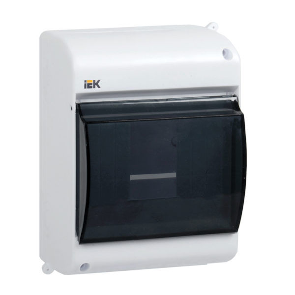 KREPTA 3 Корпус пластиковый КМПн 2/4 IP30 белый IEK