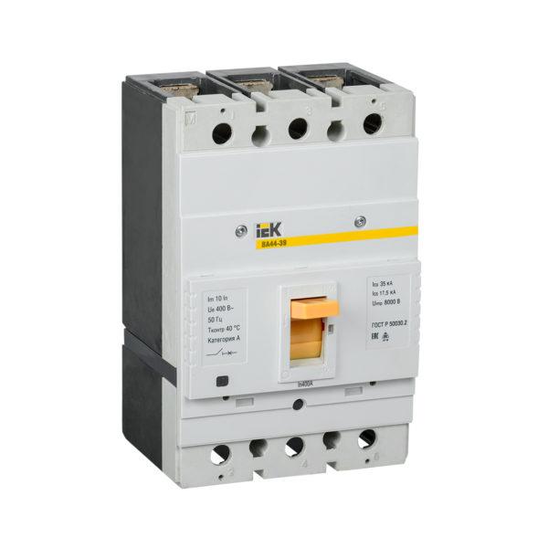 Выключатель автоматический ВА44-39 3Р 400А 35кА IEK