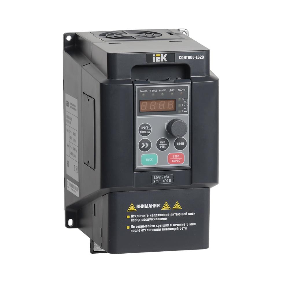 Преобразователь частоты CONTROL-L620 380В 3Ф 2,2-4кВт IEK