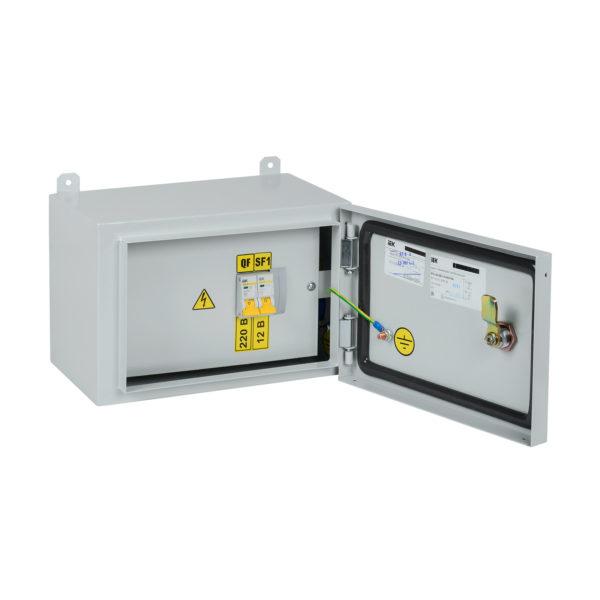 Ящик с понижающим трансформатором ЯТП-0,25 230/12-2 УХЛ2 IP54 IEK