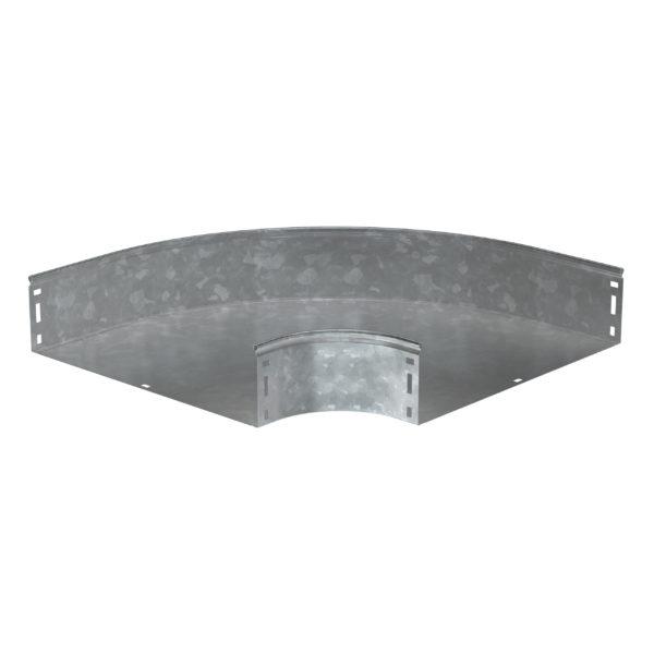 Поворот плавный 90град (тип Г01) ESCA 80х600мм HDZ IEK