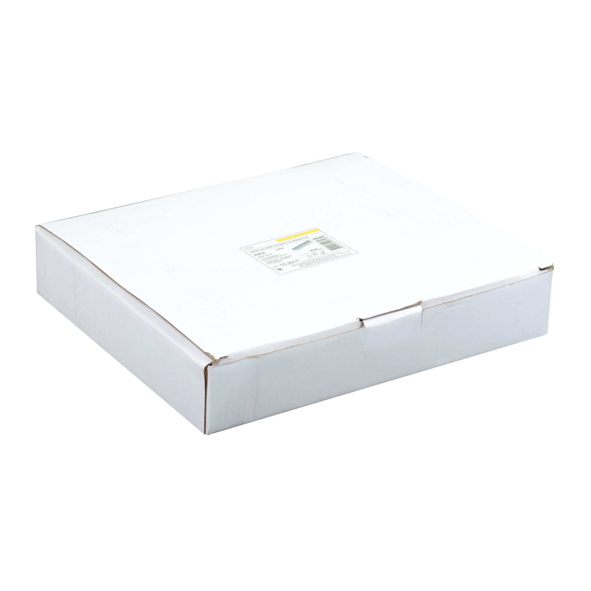 Зажим винтовой концевой изолированный КЗВИ 25мм2 (10x1) IEK