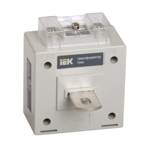 Трансформатор тока ТОП-0,66 125/5А 5ВА класс 0,5S IEK