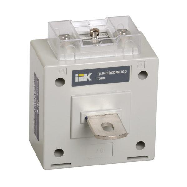 Трансформатор тока ТОП-0,66 80/5А 5ВА класс 0,5 IEK