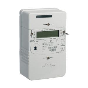 Счетчик электрической энергии однофазный многотарифный STAR 128/1 С7-5(80)Э RS-485 IEK
