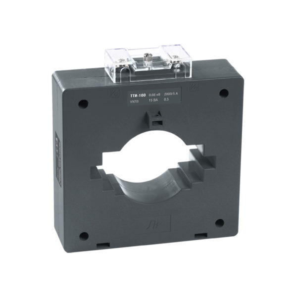 Трансформатор тока ТТИ-100 2000/5А 15ВА класс 0,5S IEK