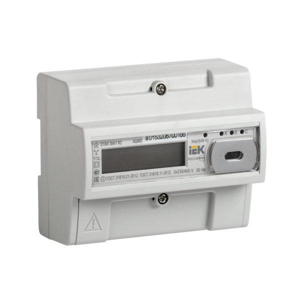 Счетчик электрической энергии трехфазный многотарифный STAR 304/1 R2-5(60)Э 4ШИО IEK
