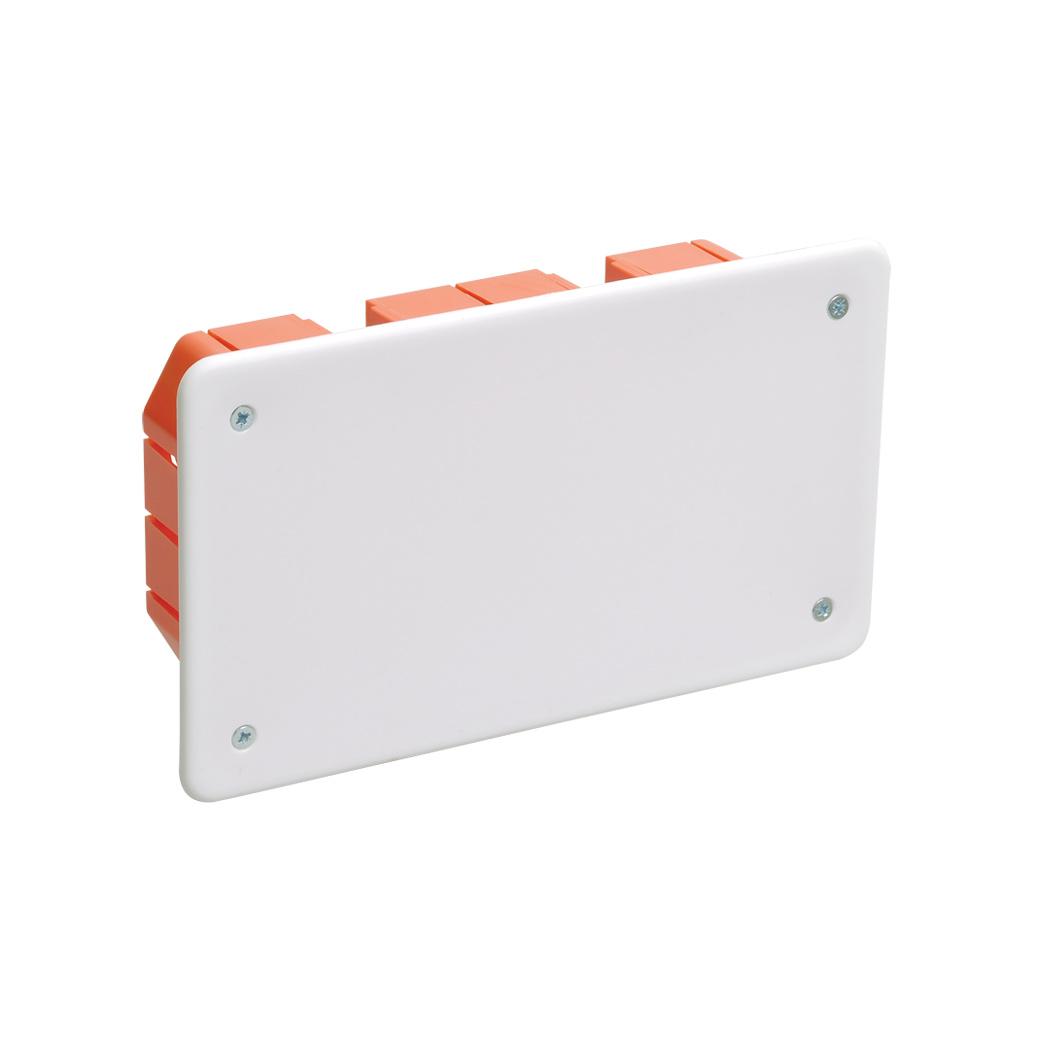 Коробка распаячная КМ41006 172x96x45мм для твердых стен (с саморезами, с крышкой) IEK