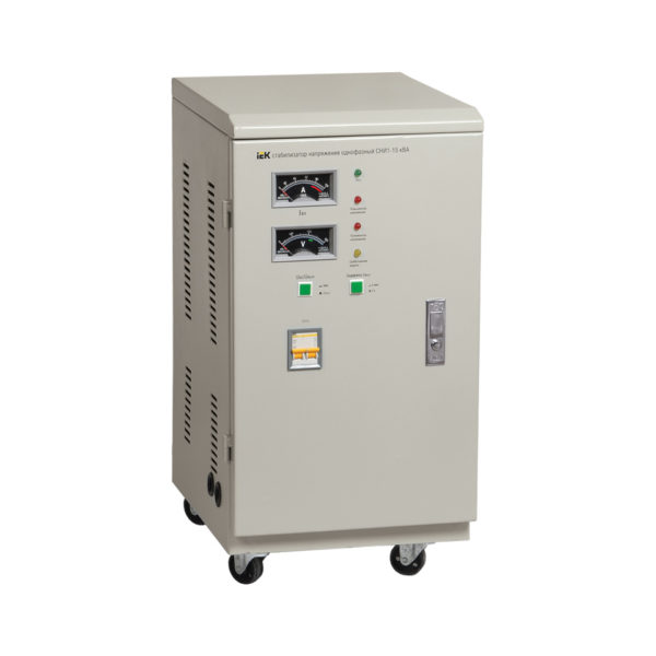 Стабилизатор напряжения однофазный СНИ1-7 кВА IEK (восстановленный)