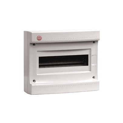 Щиток настен с дверцей 36(2х18) мод IP 65 серый