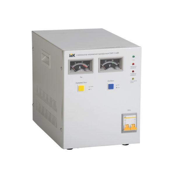 Стабилизатор напряжения однофазный СНИ1-5 кВА IEK (восстановленный)