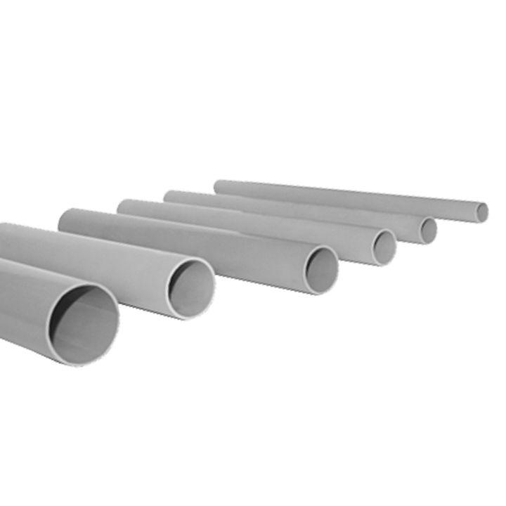 Труба гладкая жесткая ПВХ d32 EKF серая (72м/уп) (3м.) EKF PROxima