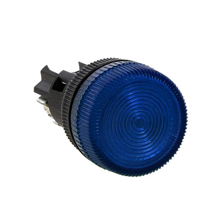 Лампа сигнальная ENS-22 синяя 24В EKF PROxima