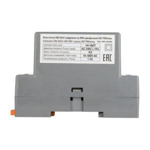 VD-G31 Вольтметр цифровой на DIN однофазный EKF PROxima