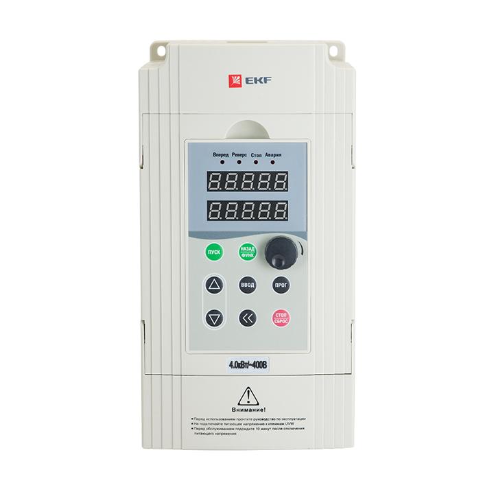 Преобразователь частоты 4/5,5кВт 3х400В VECTOR-100 EKF PROxima