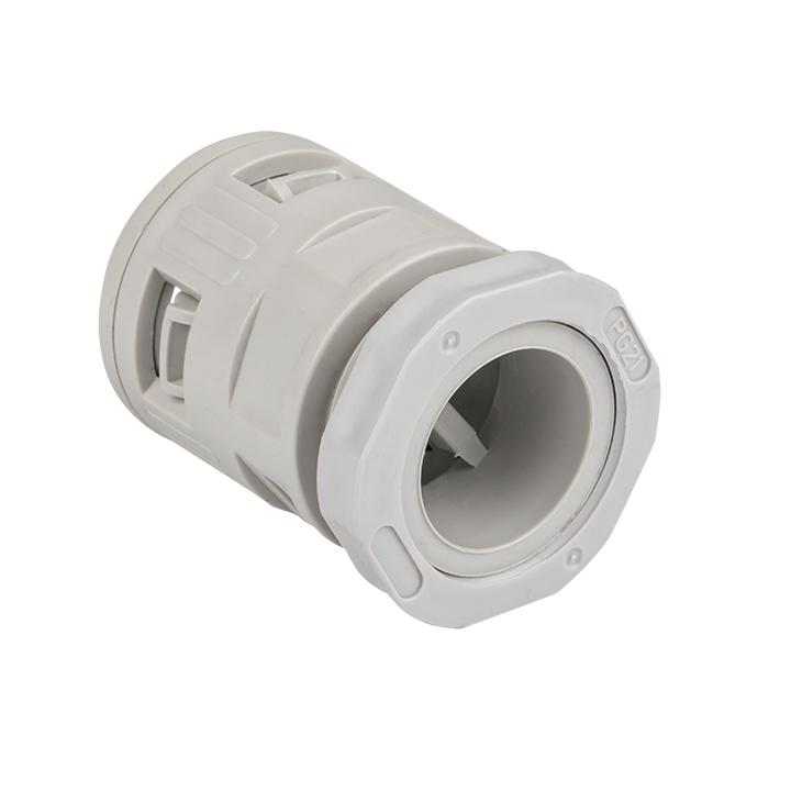 Коннектор для гофрированной трубы (25мм.) (5шт.) Plast EKFPROxima