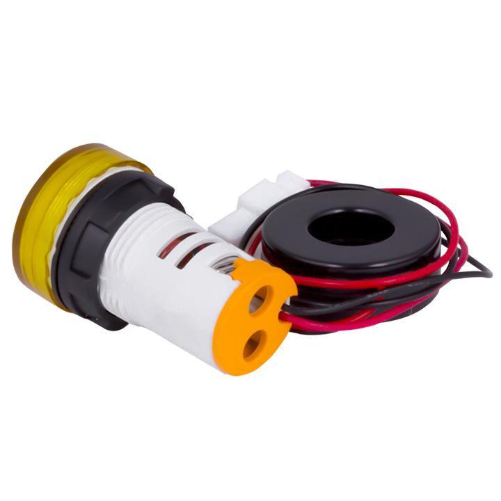 Индикатор значения тока и напряжения желтый ED16-22AVD 100А EKF PROxima