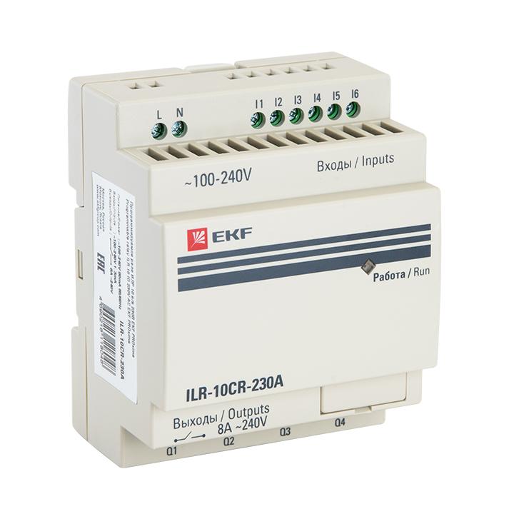 Программируемое реле 10 в/в 230В PRO-Relay EKF PROxima