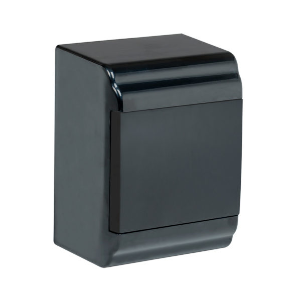 Корпус модульный пластиковый навесной ЩРН-П-4 PRIME черный IP41 IEK