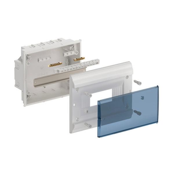Бокс ЩРВ-П-9 модулей встраиваемый пластик IP41 PRIME IEK