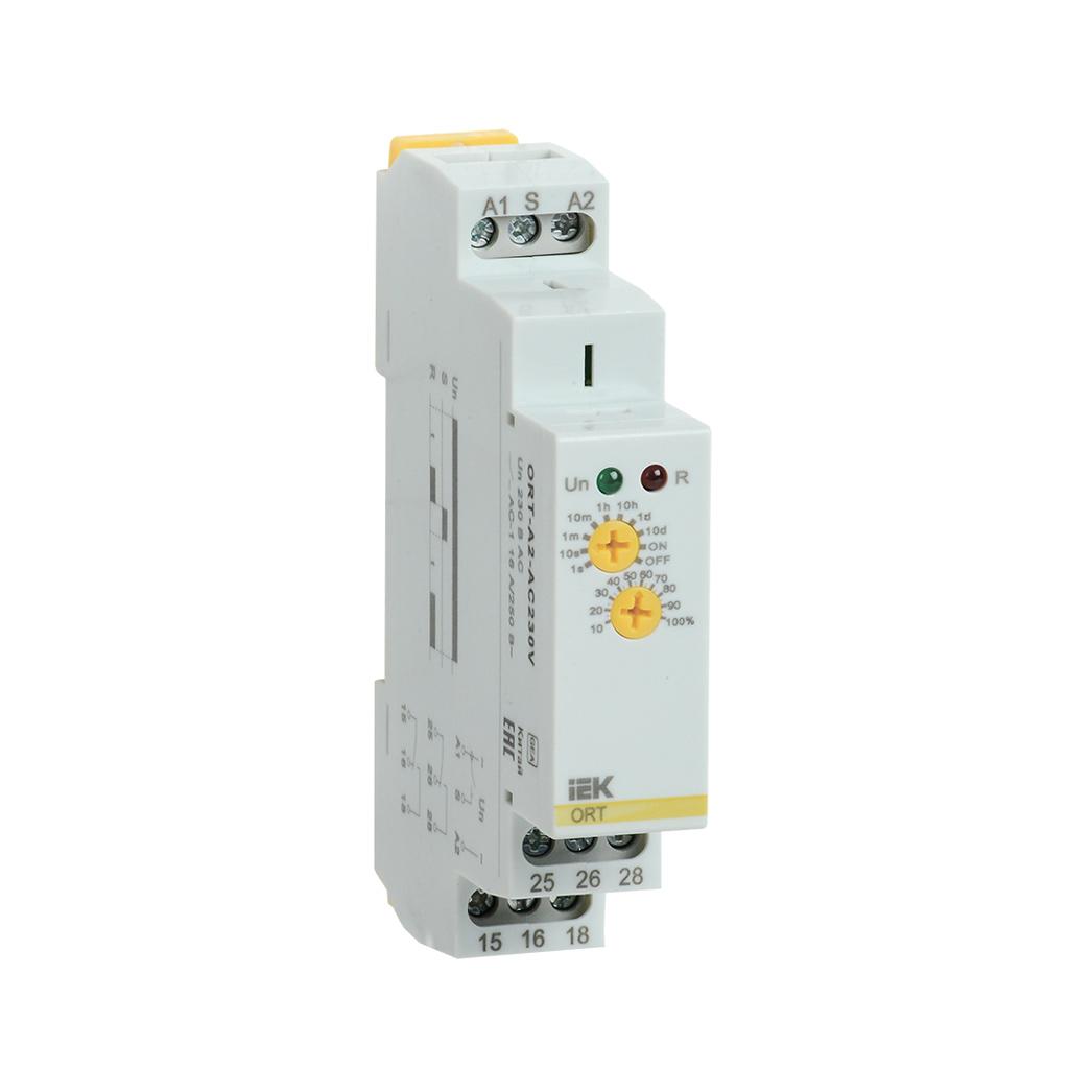 Реле задержки включения ORT 2 контакта 230В AС IEK