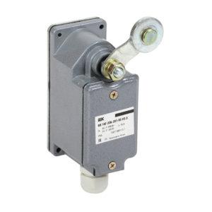 Выключатель концевой ВП 16Г-23Б-231-55 У2.3 рычаг с роликом/ход вправо/cамовозврат 1з+1р IP55 IEK