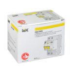 Дифференциальный автоматический выключатель АД12MS 2Р 25А 100мА IEK 2